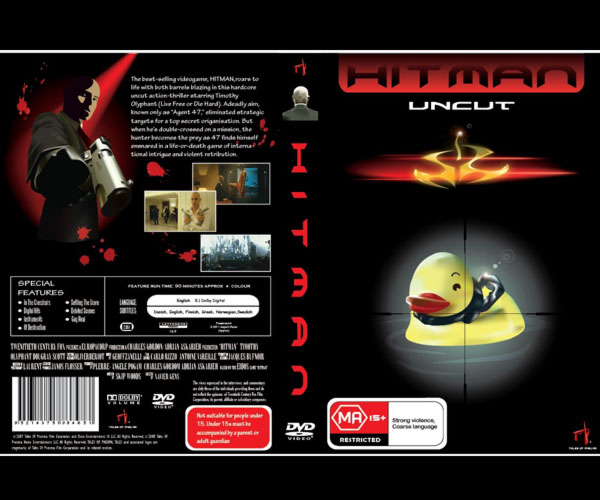 DVD Cover Page Design