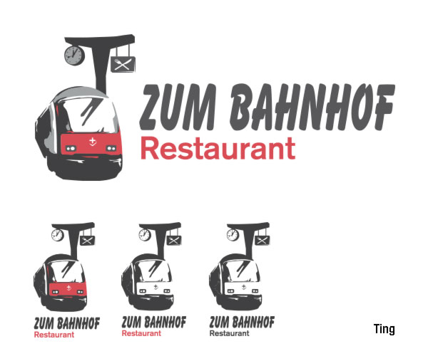 Switzerland Restaurant Logo Design